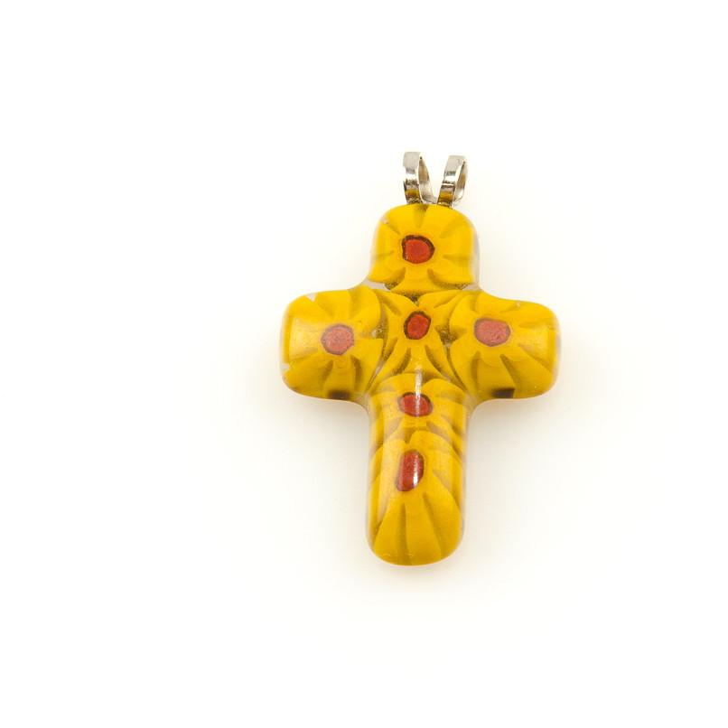 Pandantiv Cruce Multicolor